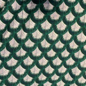 maglia foglie verdi