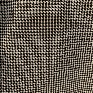 Tessuto stretch lurex Pied de poule bianco/nero